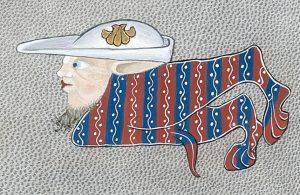 Enluminures - Martine Chany - Psautier de Luttrell - Art
