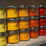 pigments - Martine Chany- pigments naturels broyés avec liant ancestral